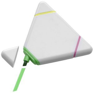 Marcador Fluorescente Triangular