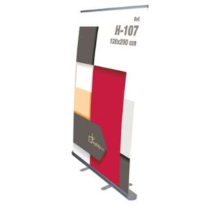 Roll Up Aluminio 120x200cm