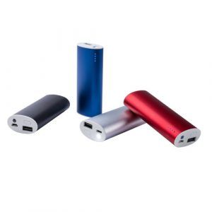 Power Bank Aluminio 4000 mAh