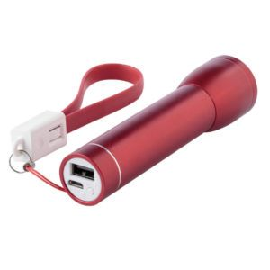 Power Bank con Linterna 2000mAh